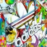 Tema Adidas graffitti