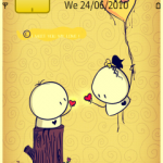 Tema Crazy love couple