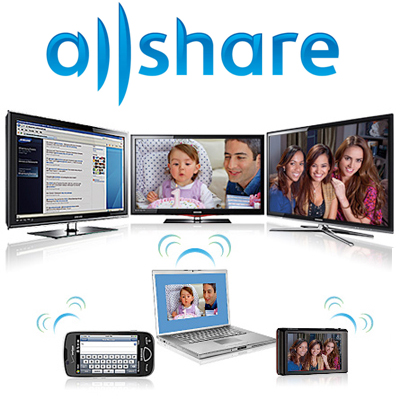 Samsung Galaxy S - AllShare