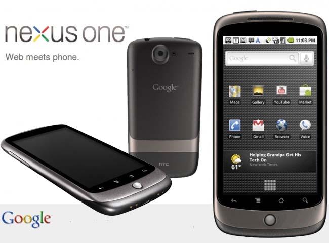 Temas para Google® Nexus™ One