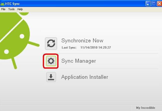 HTC Sync Manager: Sincroniza tu HTC con Windows 7
