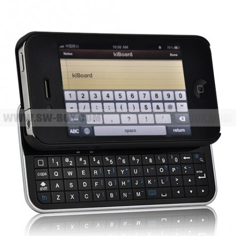 KiBoard para iPhone 4