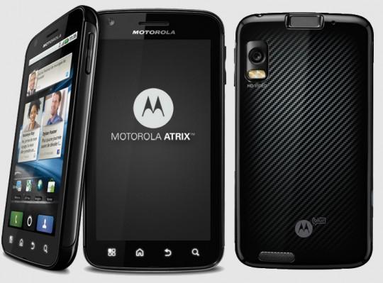 Recuperar la vida de la batería del Motorola Atrix