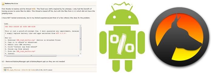 Recuperar la vida de la bateria del Motorola Atrix