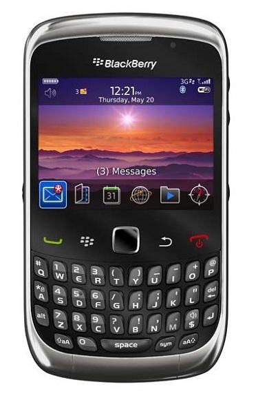Principales Problemas en blackberry curve