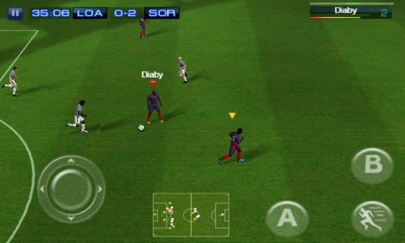 Real Football 2012 para Android y iPhone