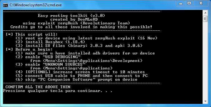 Como Rootear el Motorola Atrix con GingerBread