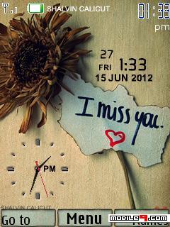 Tema I Miss You-Amor