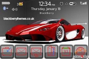 Tema Ferrari-Auto motivo