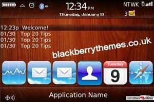 Tema i Phone ish Blackberry- Tecnología