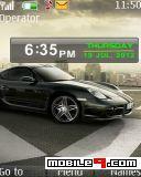 Tema Porsche-Auto motivo