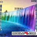 Tema Rainbow Waterfall-Naturaleza