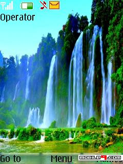 Tema waterfall-Naturaleza
