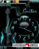 Tema Guitar Clock-Abstracto