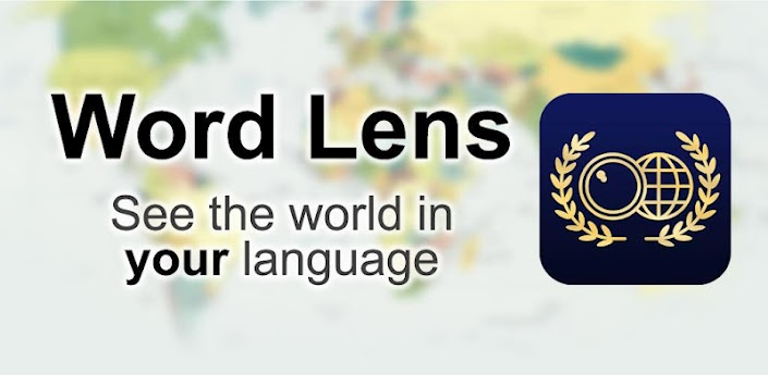 Word Lens, Traductor a través de la cámara del Android