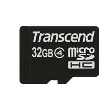 Tarjeta Micro SD Transcend Clase 4 32GB