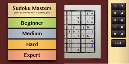 Sudoku Master para BlackBerry