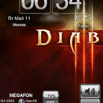 tema Diablo GO Launcher