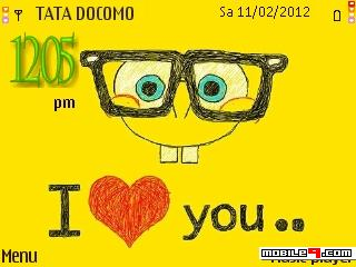 Tema I ♥ you- Caricatura