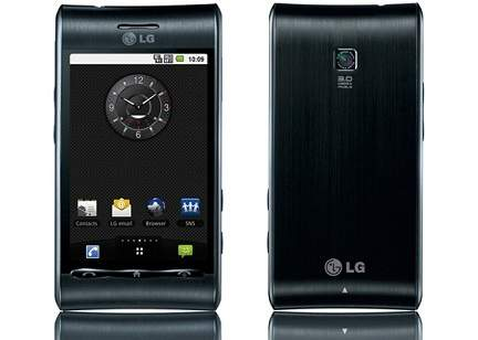 Temas para LG GT540 Optimus