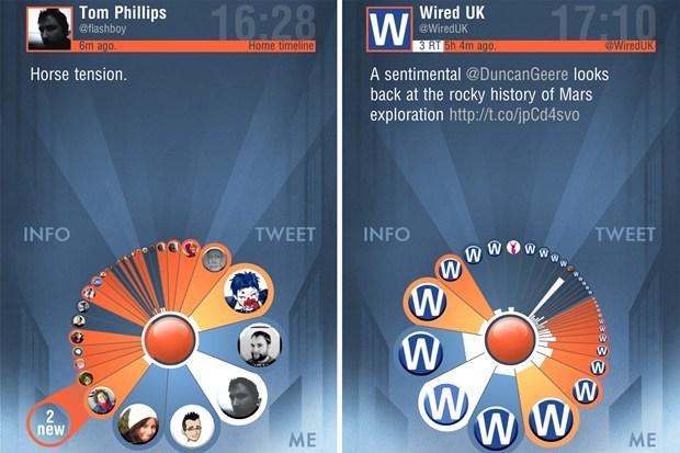 Aplicaciones sobre Twitter para iOS