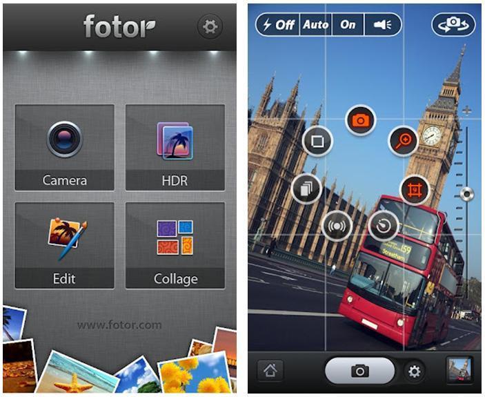 Fotor, cámara para Android todo en uno