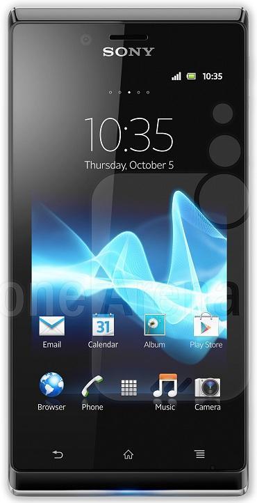 Sony Xperia T, Xperia J y Xperia V; se presentan en el mercado