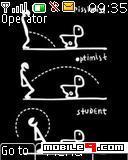 Tema estudiante-Gracioso