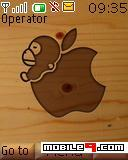 Tema Apple Wood-Marca