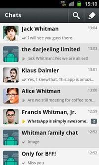 WhatsApp para tu Samsung Galaxy