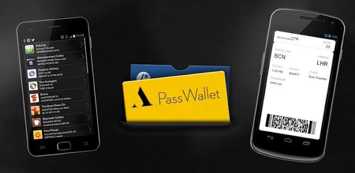 PassWallet, el PassBook de Apple en tu Android