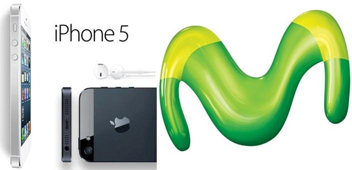 Precios del iPhone 5 con Movistar España