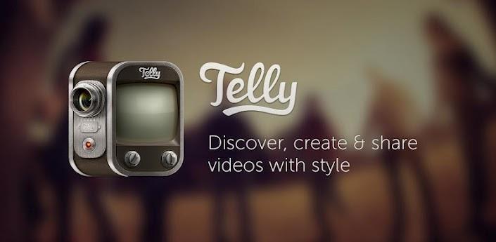Telly, podrás crear videos con mucho estilo