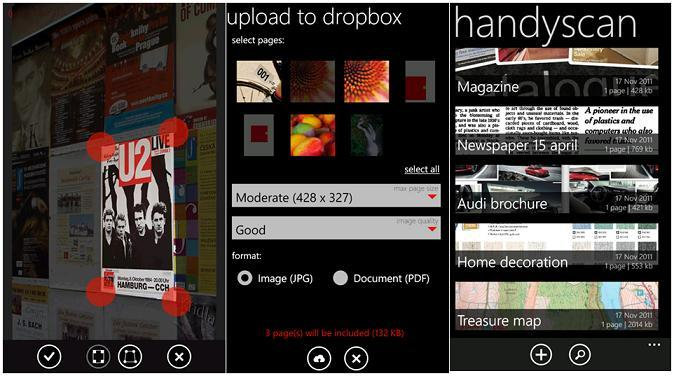 Handyscan, aplicación para tu Windows Phone