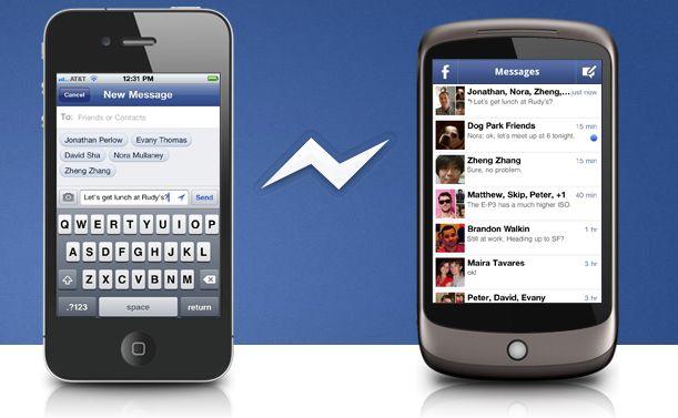 descargar facebook messenger para celular