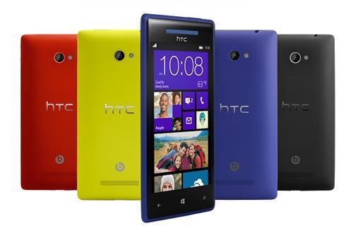 HTC 8X: