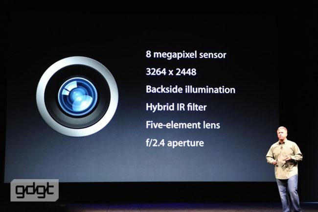 iSight, la sorprendente cámara del iPhone 5