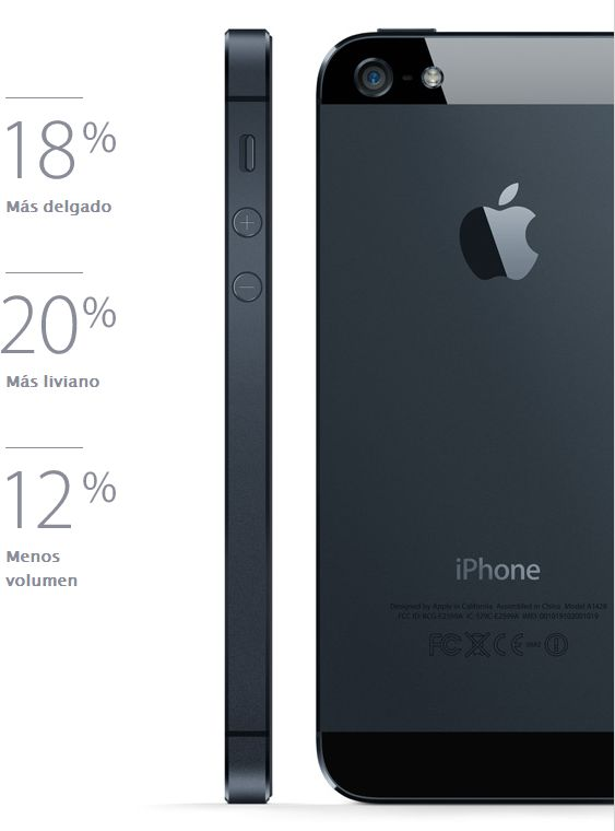 Diseño Iphone 5