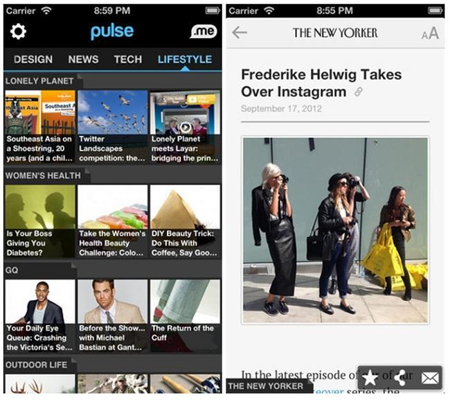 Pulse News, un nuevo lector de noticias en tu iPhone