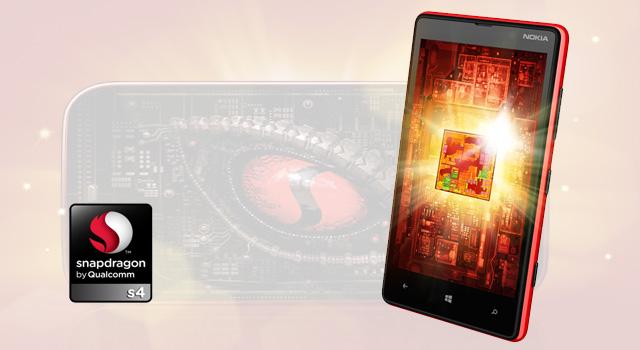 Qualcomm Snapdragon S4, el interior del Windows Phone 8