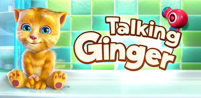 Talking Ginger, un tierno gatito en tu dispositivo