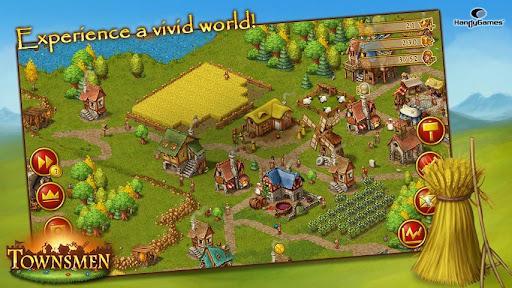 Townsmen, una aventura medieval en tu Android