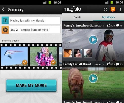 Magisto para Android