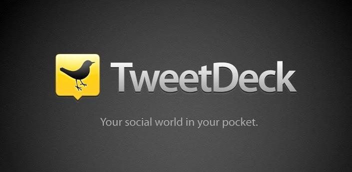 TweetDeck, tus redes sociales en un solo lugar