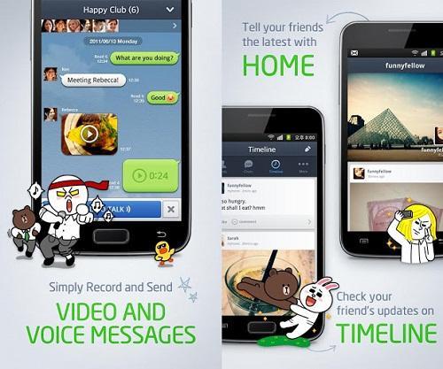 Aplicación para Android: Line