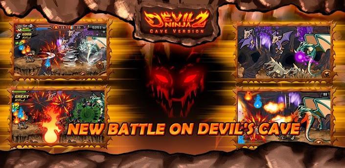 Juego para Android, disfruta de la aventura con Devil Ninja2