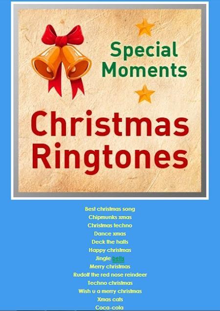 Ringtones de navidad, hermosos tonos para tu móvil