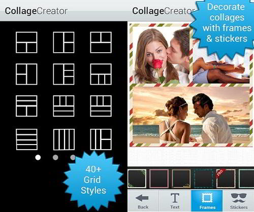 Aplicación para Android: Collage creator