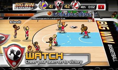 Juego para Android gratis: Bid Win Basketball