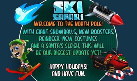 Juego para Android: Ski Safari